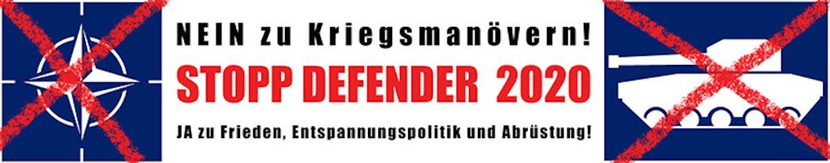STOPP DEFENDER - WANN AUCH IMMER! 1