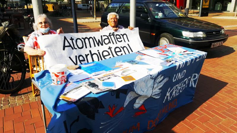 6. August 2020 - Hiroshima Gedenken, auch in Dortmund 2