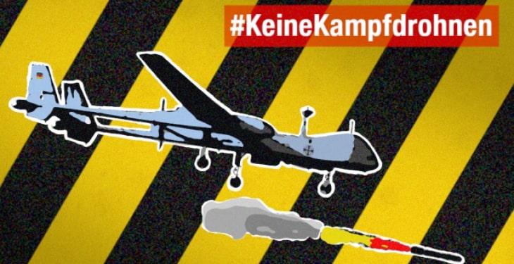 Keine bewaffneten Drohnen für die Bundeswehr!