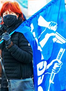 """Unser Beitrag zum bundesweiten dezentralen Aktionstag """"Abrüsten statt aufrüsten"""" 13"""