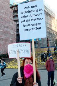 """Unser Beitrag zum bundesweiten dezentralen Aktionstag """"Abrüsten statt aufrüsten"""" 2"""