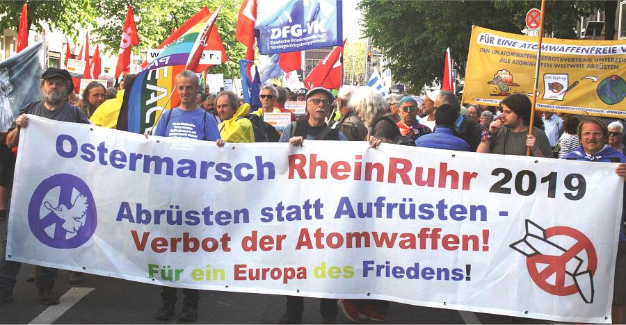 Ostermarsch Rhein - Ruhr 2021 2